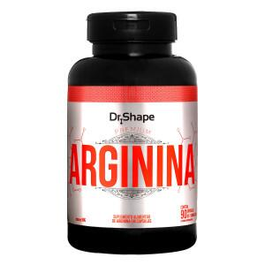 ARGININA - 1100MG - 90CAPS - DR. SHAPE