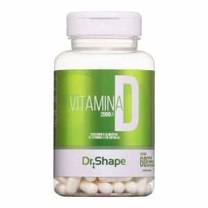 VITAMINA D 2000UI - 60CAPS - DR. SHAPE